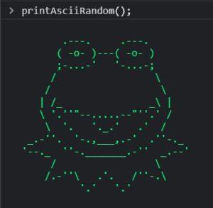 ASCII Printer Screenshot