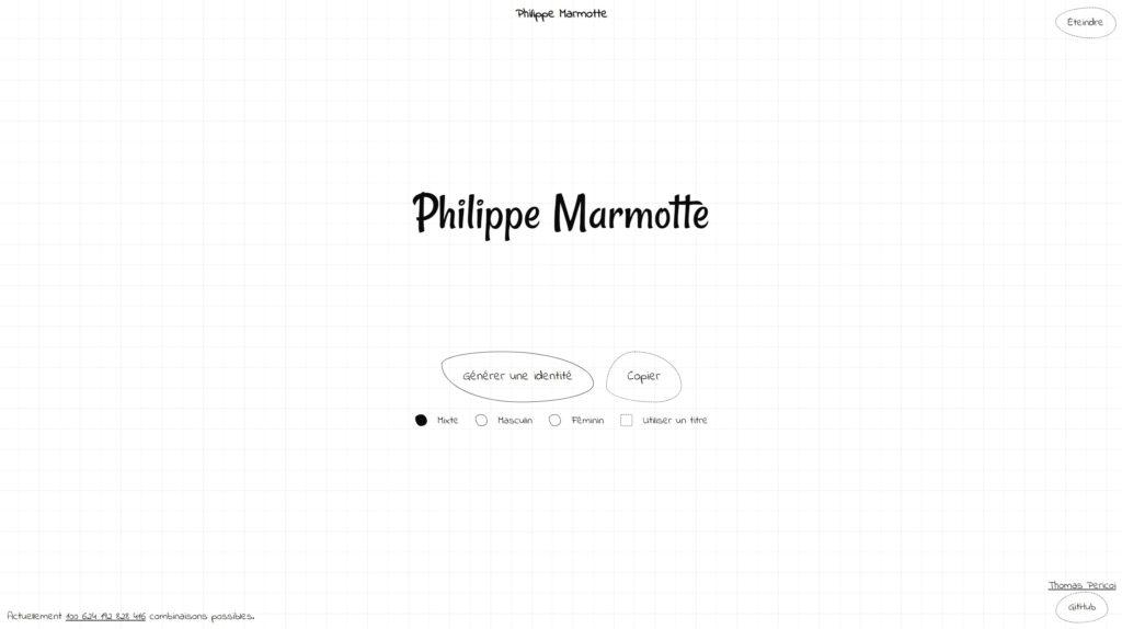 Philippe Marmotte Screenshot 1